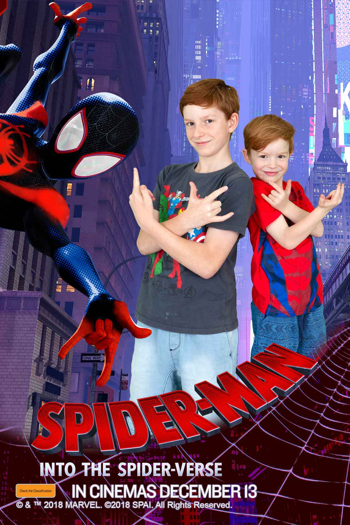 Spider Man Photo Booth Australia